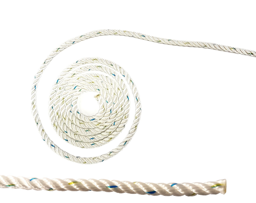 Liros 3 Strand Pre-Stretched Polyester Rope  Easy Splice
